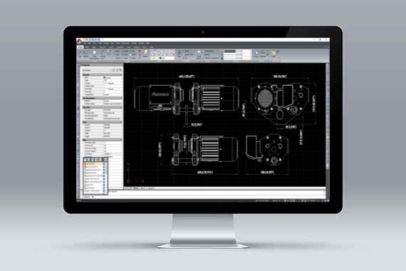 CMS IntelliCAD program CAD compatibil cu fisierele *.dwg