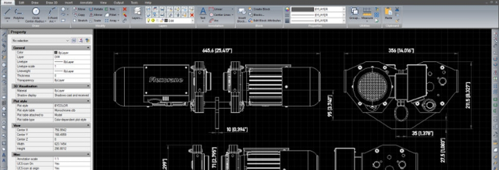 Lansare program CAD CMS IntelliCAD 8.1