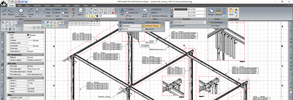 Lansare CMS IntelliCAD 8.2 Premium Software CAD
